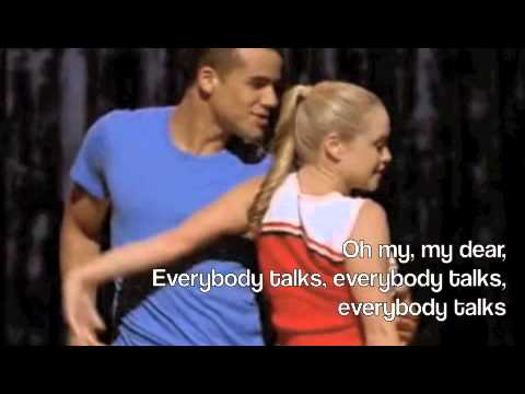 Everybody Talks-Glee Lyrics