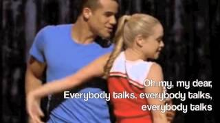 Everybody Talks-Glee Lyrics