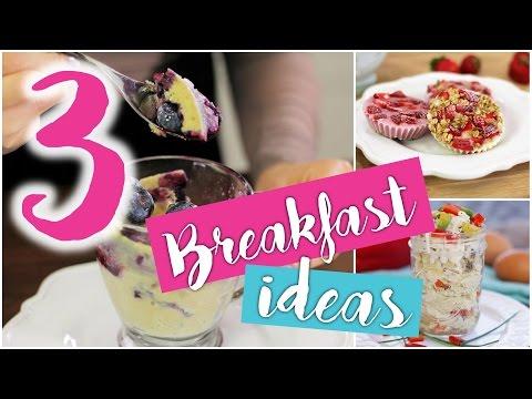 3 CHEAP, EASY & HEALTHY make-ahead breakfast ideas!
