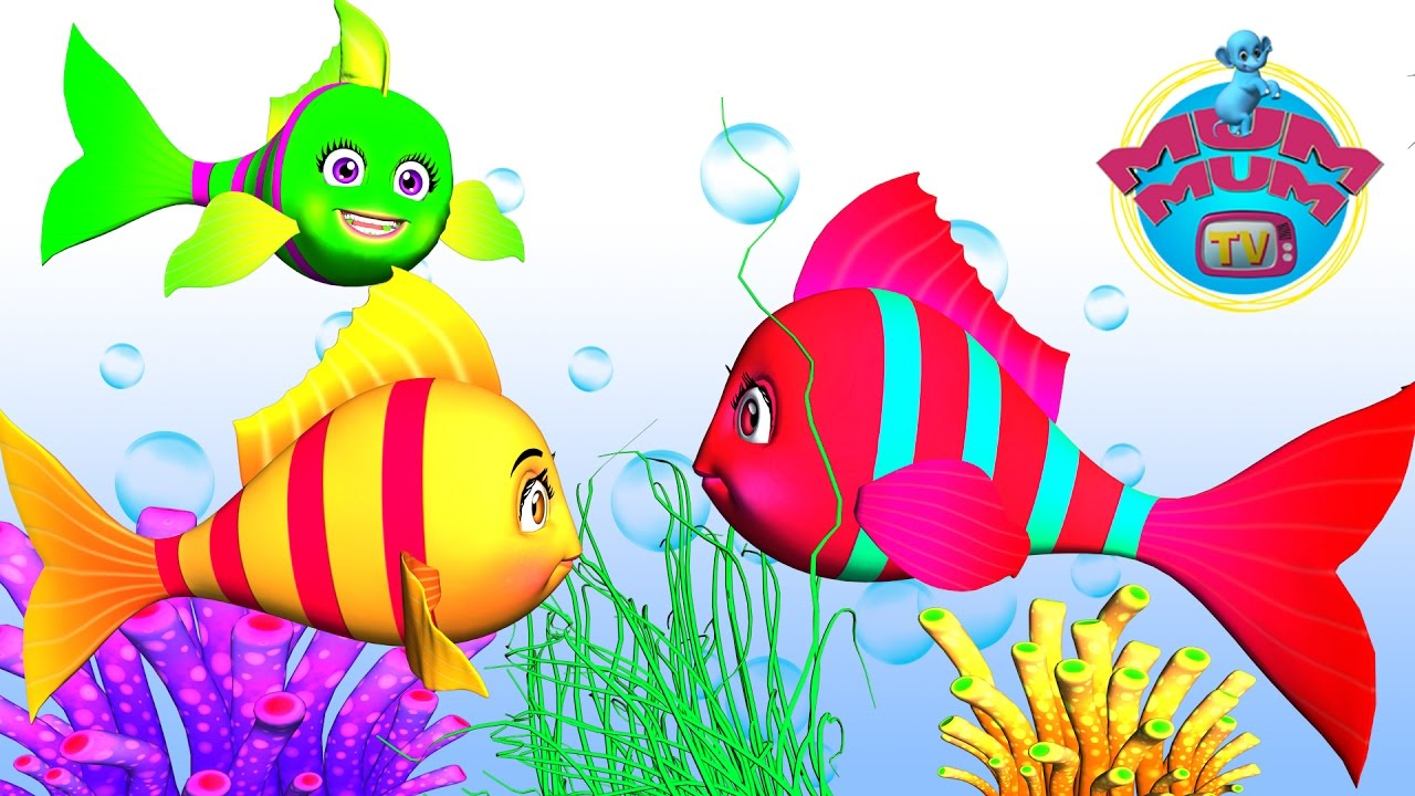 Three little fishes song with lyrics best nursery rhymes for Little fish song