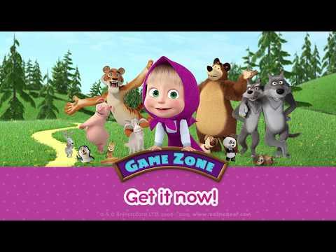 Masha E O Urso Zona De Jogo Apps No Google Play