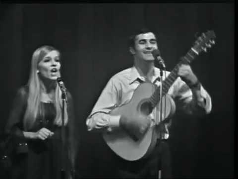 Ilan & Ilanit  Shav Ani Elayich  in France, 1967 אילן ואילנית