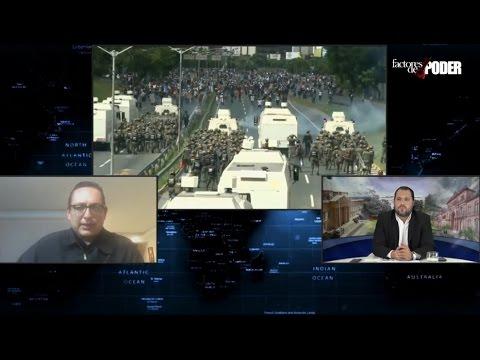 JOSÉ VICENTE HARO EXPLICA POR QUÉ EN CARACAS LOS MANIFESTANTES HAN MERMADO