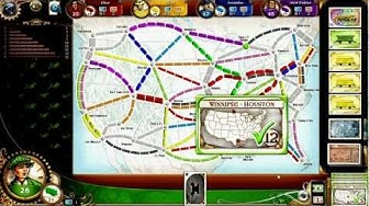 Ticket to Ride Online - gameplay