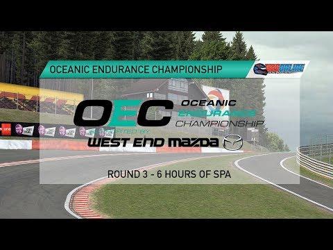 Oceanic Endurance Championship - Round 3