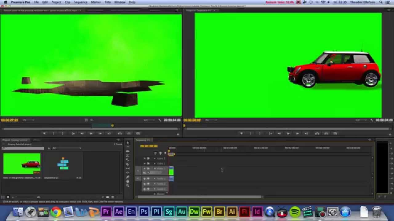 Green Screen Keying in Adobe Premiere Pro CS6 The Easiest Way ...