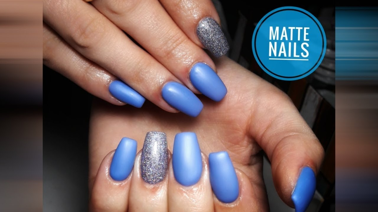 Ballerina Matte Nails How To