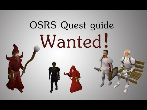 [OSRS] Wanted! quest guide
