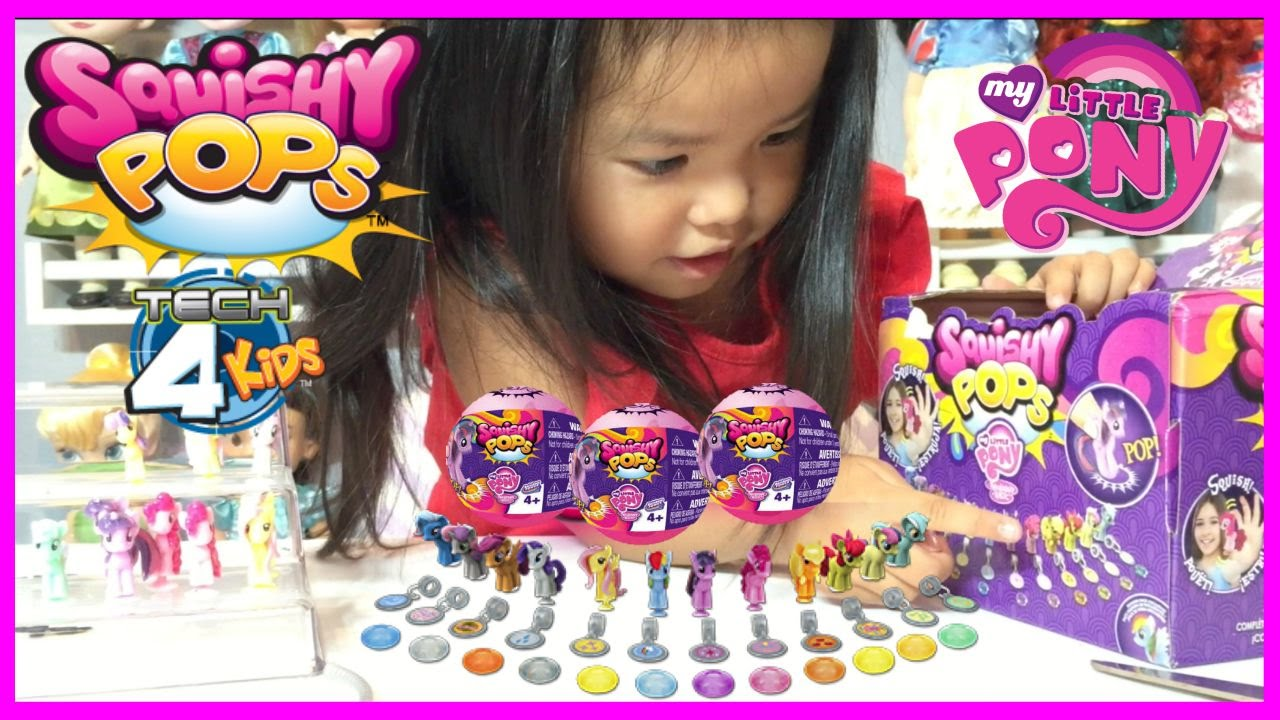 Case Of Squishy Pops : *Full* Case of My Little Pony Squishy Pops Opening Unboxing includes Cutie Mark Crusaders - YouTube