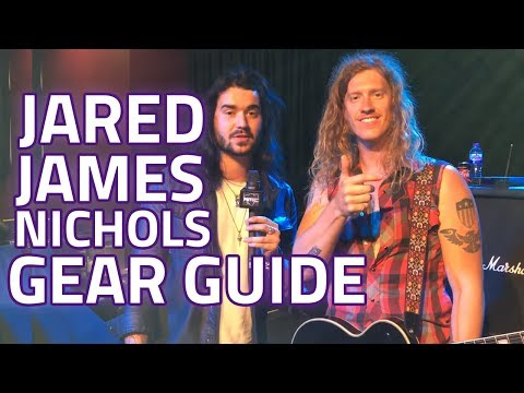 Jared James Nichols Gear Guide - Dagan Meets Jared On Tour!