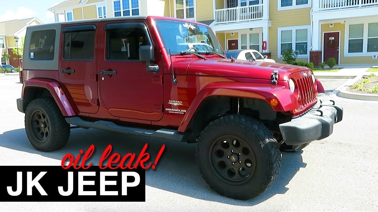 Jeep Jk Oil Leak