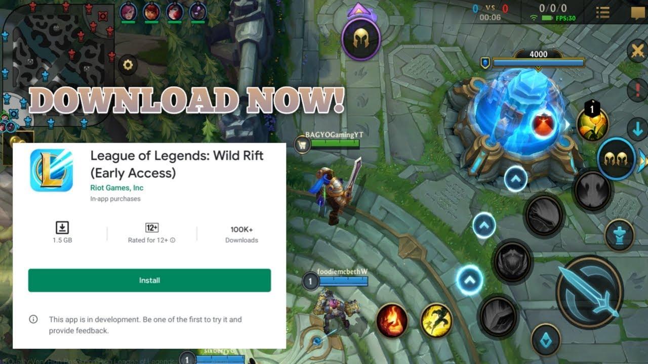 League of Legends Wildrift Gameplay Basic tutorial (DOWNLOAD NOW GUYS!)