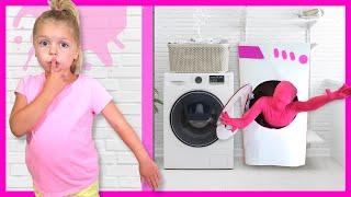 Kin Tin Giant Washing Machine Makes Toys come to Life!
