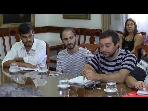 Reunión de productores en la Casa Gris