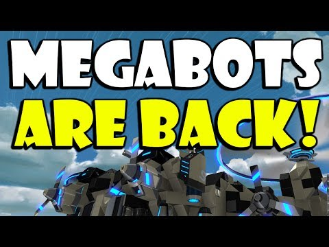 Robocraft - The Worlds First Flying MEGABOT 'SKYGOD' Part 1of3 BUILD