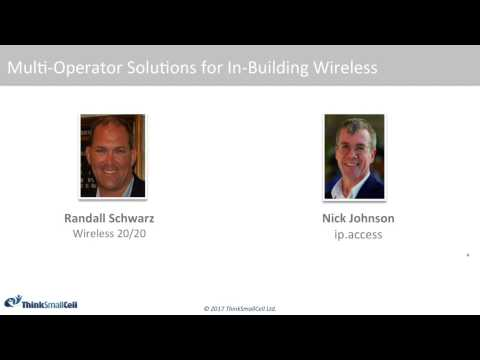 Multi-Operator Small Cell Solutions for In-Building Wireless