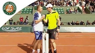 A. Murray V. A. Golubev 2014 French Open Men's R1 Highlights