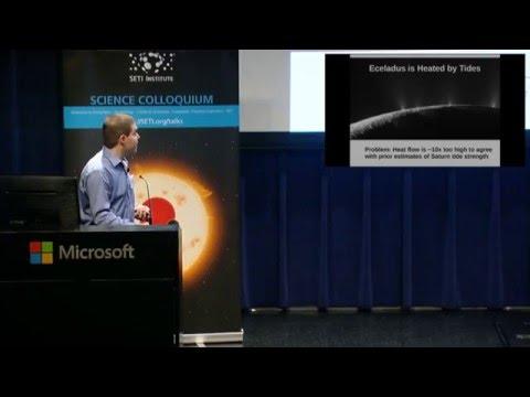 Orbital Dynamics Suggests A Recent Formation of Saturn's Moons - Matija Cuk (SETI Talks)
