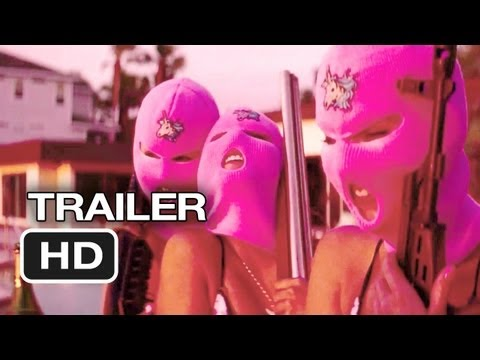 Spring Breakers Official UK Trailer (2013) - James Franco Movie HD
