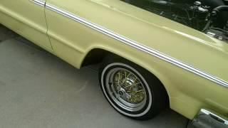 The rare 1964 Impala SS 1347 code car