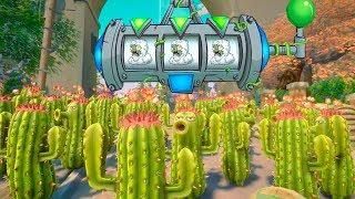 999 CACTUS VS 3 YETIS | Plants Vs Zombies: Garden Warfare 2