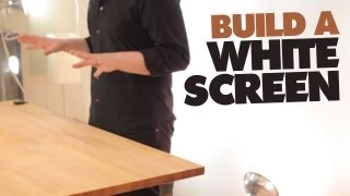 Build A White Screen!