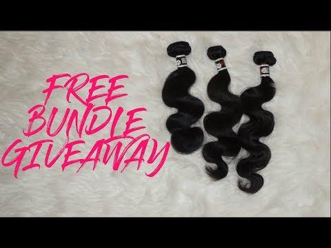 OPEN GIVEAWAY!! 3 Brazilian Body Wave Bundles - UGlam Hair