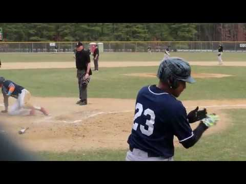 RBI Double vs Ocean County College