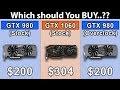 GTX 980 vs GTX 1060 vs GTX 980 OC   Which Should You Buy...???