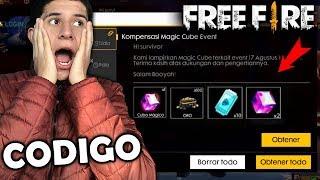 🔴NUEVO CODIGO CON PREMIOS EPICO en FREE FIRE | NUEVO CUBO MAGICO GRATIS EVENTO EPICO