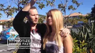 How To Hypnotize People UNCUT - Street Hypnosis