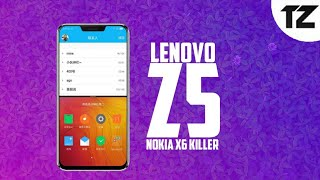 Lenovo Z5 - Launch Date in India,Specifications and Price | Nokia X6 Killer