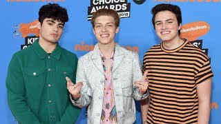 Forever In Your Mind Dish on Upcoming Tour & Obsess Over Fortnite | 2018 Kids' Choice Awards