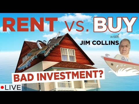 Jim Collins Thinks Your House Is a Bad Investment | Rent vs. Buy Analysis | LIVE