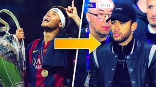 What the hell is happening to Neymar? - Oh My Goal
