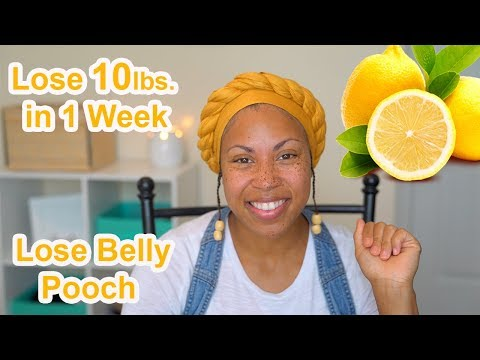 HOW TO LOST 10lbs. IN ONE WEEK~~Lemonade Cleanse/Fast