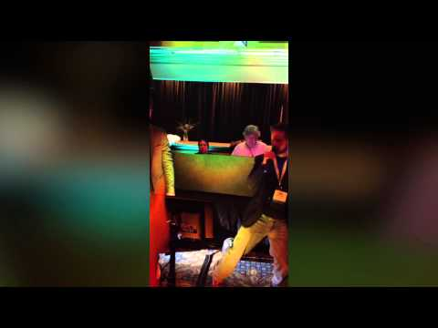 Social Media Marketing World 2013: Karaoke with Brian Carter and Nathan Latka