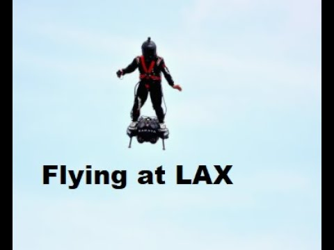 Guy In Jetpack Greets Incoming Planes At LAX, Prompts FBI Inquiry