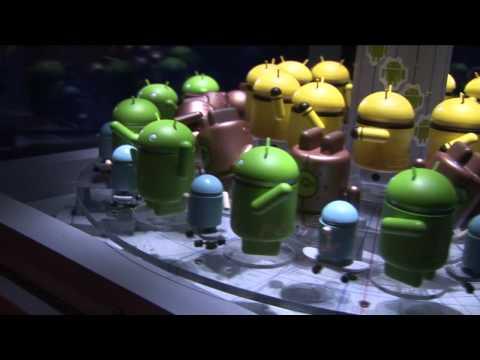 Google Droid 3D Zoetrope