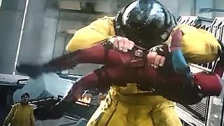 Deadpool gets ripped apart by Juggernaut (Deadpool 2)