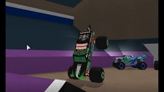 ROBLOX Monster Jam Pensicola 2-wheel competition