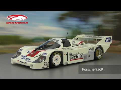 ck-modelcars-video: Bob Wollek Porsche 956K Joest Racing Winner DRM Zolder 1983 Minichamps