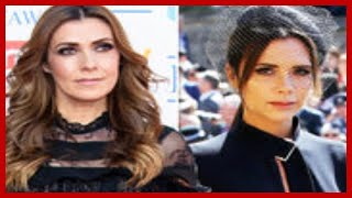 Coronation Street Kym Marsh wades in on 'miserable' Victoria Beckham at royal wedding