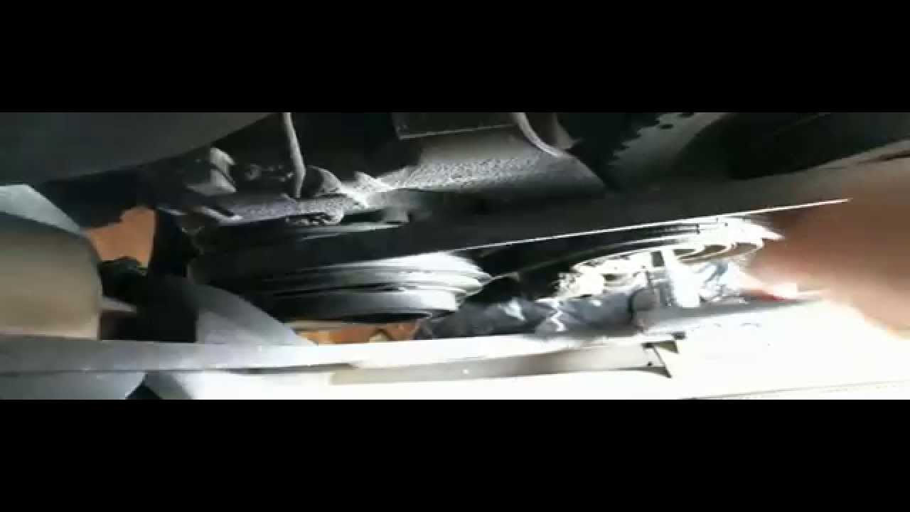 How To Replace The Fan Belt Bmw Youtube 318 Engine Diagram