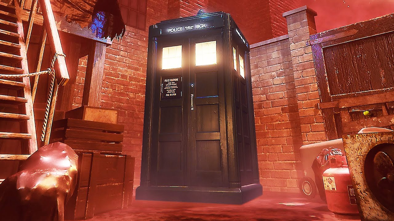 "DOKTOR DER ZEITRAND ""TARDIS"" Teaser Trailer (2019) PS4 / PS VR / PC + video"