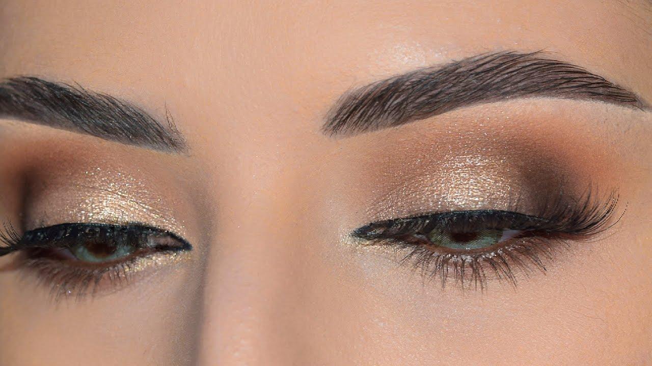 makeup tutorial for big eyes |مكياج العيون الكبيرة والواسعة ونصائح للعيون  الدائرية