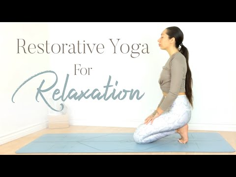 Restorative Yoga For Relaxation Full Body Stretch