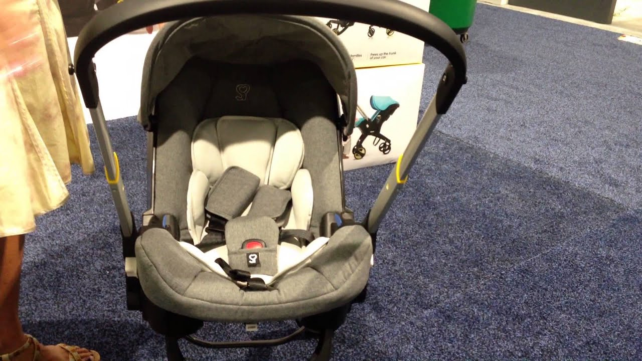 2015 Doona Car Seat and Stroller - YouTube
