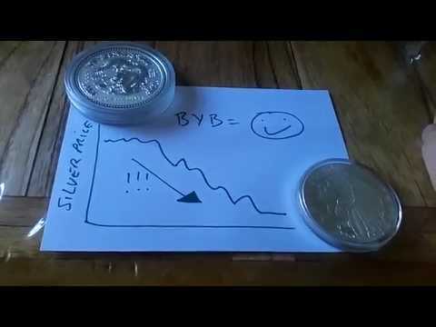 A Big Fall in Silver Prices - Why im really not bothered :-)