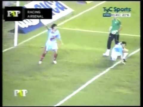 Video_Racing Club - 2010 CL - Home - 3ra vs Arsenal - R. Ayala _PasoaPaso.flv